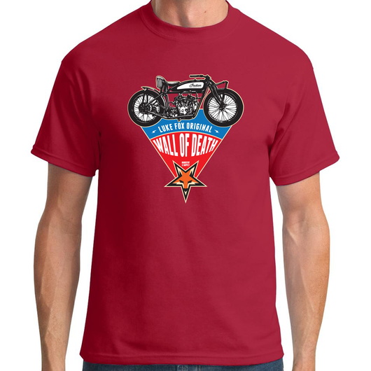 LUKE FOX WALL OF DEATH (V1) T-SHIRT