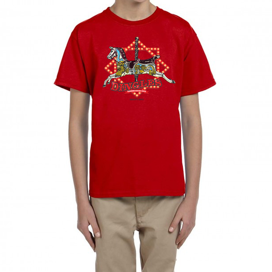 DINGLES FAIRGROUND CAROUSEL T-SHIRT FOR KIDS