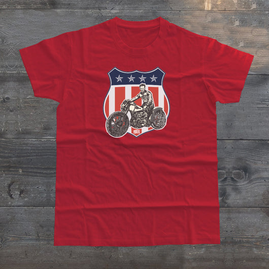 STARS & STRIPES HARLEY T-SHIRT