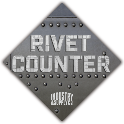 THE RIVET COUNTER STICKER