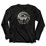 LAND ROVER DEEP BLACK LONG SLEEVE T-SHIRT