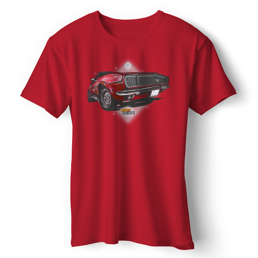 NO.4 LIMITED EDITION COVER CHEVROLET CAMARO RS/SS T-SHIRT