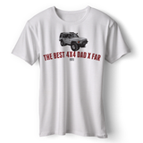 LAND ROVER BEST 4X4 DAD DISCOVERY T-SHIRT