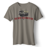 LAND ROVER BEST 4X4 DAD MISC T-SHIRTS