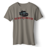 LAND ROVER BEST 4X4 DAD DEFENDER T-SHIRT