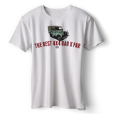 LAND ROVER BEST 4X4 DAD SERIES T-SHIRT
