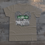 THE BEST 4 X 4 MUM X FAR DISCOVERY T-SHIRTS