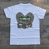 THE BEST 4 X 4 MUM X FAR OTHER T-SHIRTS