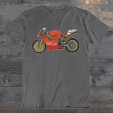 RETRO RR ICONIC SUPERBIKE NO.1 T-SHIRT