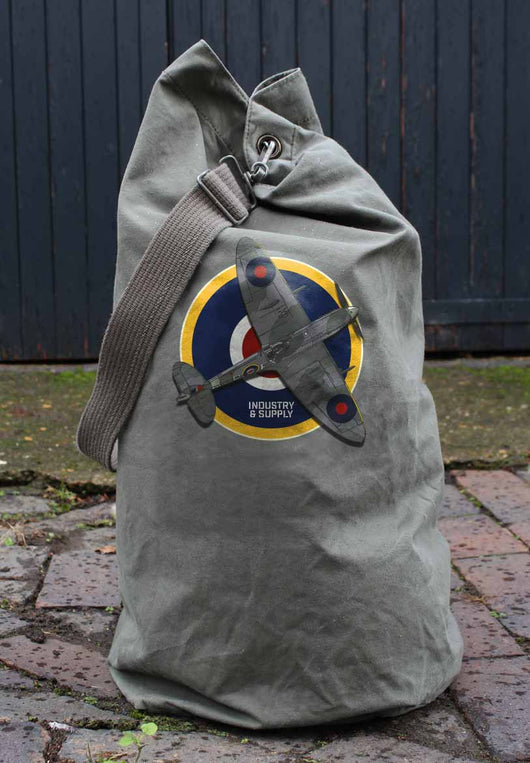 SPITFIRE ARMY SURPLUS KIT BAG - USED CONDITION