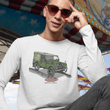 PLIMSOLL LAND ROVER LONG SLEEVE T SHIRT