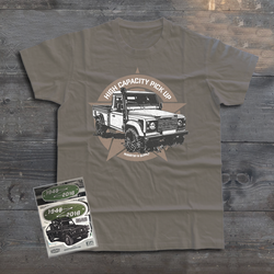 LAND ROVER DEFENDER 110 HIGH CAPACITY PICKUP T-SHIRT