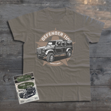LAND ROVER DEFENDER 110 STAR T-SHIRT