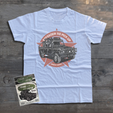 LAND ROVER DEFENDER 110 PICKUP STAR T-SHIRT