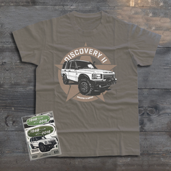 LAND ROVER DISCOVERY 2 T-SHIRT