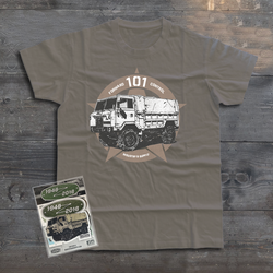 LAND ROVER FORWARD CONTROL 101 T-SHIRT