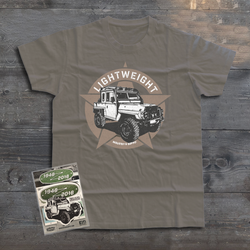 LAND ROVER LIGHTWEIGHT T-SHIRT