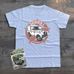LAND ROVER SERIES I T-SHIRT