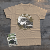 LAND ROVER SERIES III T-SHIRT