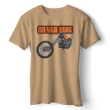 ON YER BIKE RETRO CHOPPER T-SHIRT