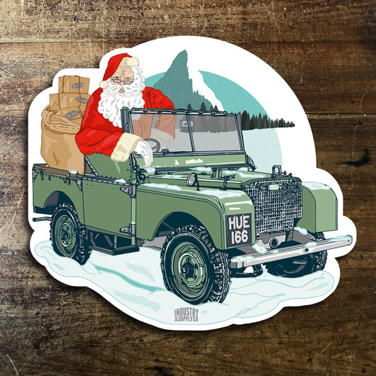 LAND ROVER SANTA DRIVES
