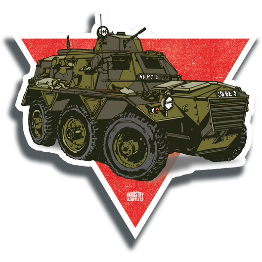 SARACEN TANK STICKER