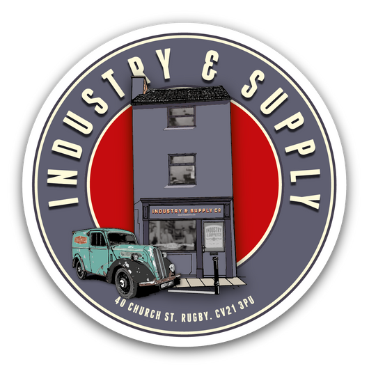 INDUSTRY & SUPPLY SHOP STICKERS