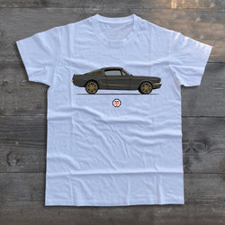 PROJECT SOS MUSTANG (SIDE VIEW) T-SHIRT
