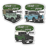 SERIES 1, 2 & 3 STICKER BUNDLE