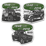DEFENDER STICKER BUNDLE