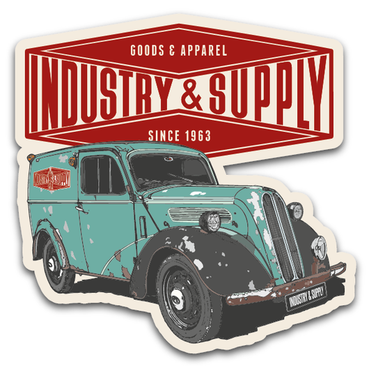 FREE INDUSTRY & SUPPLY THAMES STICKER