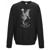 TONY THE ENGRAVER SEA HORSE SWEATSHIRT