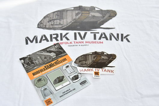 MARK IV TANK SHIRT & STICKER BUNDLE