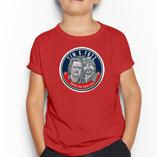 CAR S.O.S. TIM & FUZZ KIDS T-SHIRT