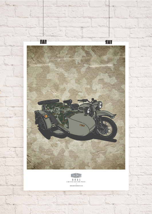 LIMITED EDITION URAL ART PRINT