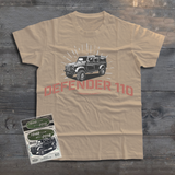 LAND ROVER UTILITY DEFENDER 110 T-SHIRT