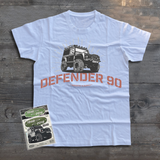 LAND ROVER DEFENDER 90 UTILITY T-SHIRT