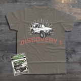 UTILITY LAND ROVER DISCOVERY 1 T-SHIRT