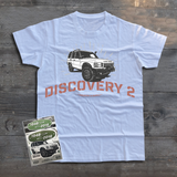 UTILITY LAND ROVER DISCOVERY 2 T-SHIRT