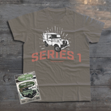 LAND ROVER UTILITY LAND ROVER SERIES I T-SHIRT