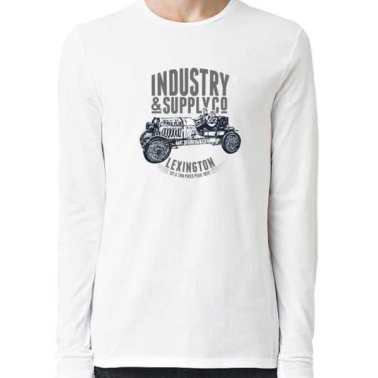 Lexington 7 Pikes Peak Industry & Supply Long Sleeve Shirt White