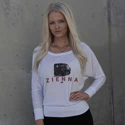 ZIENNA UTILITY LONG SLEEVE T-SHIRT (WITH WAIST)