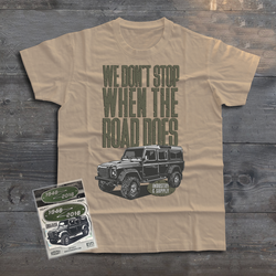 LAND ROVER OFFROAD DEFENDER 110 T-SHIRT