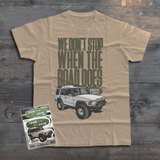LAND ROVER OFFROAD DISCOVERY ONE T-SHIRT