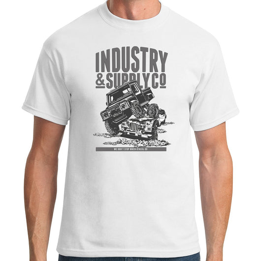 UTILITY WE DON'T STOP T-SHIRT