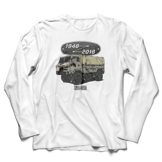 LAND ROVER 70TH BIRTHDAY OTHER LONG SLEEVE T-SHIRT