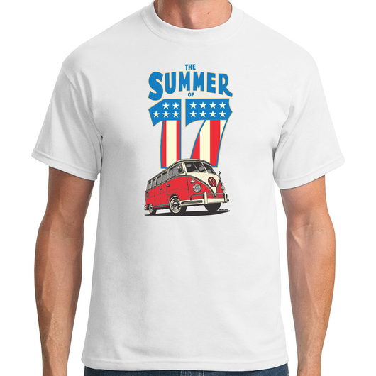 THE SUMMER OF 17 T-SHIRT
