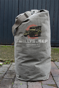 WILLYS JEEP ARMY SURPLUS KIT BAGS - USED CONDITION