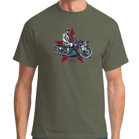 WW2 Indian Scout Army T-Shirt