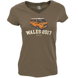 HOLIDAY DESTINATION WESTFALIA LADIES V-NECK T-SHIRT